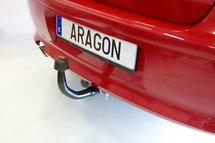 Trekhaak verticaal afneembaar Citroen DS5 5 deurs 2012-