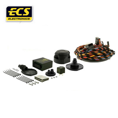 Kabelset 7 polig Fiat 500 3 deurs hatchback 11/2007 t/m 08/2015 - wagenspecifiek
