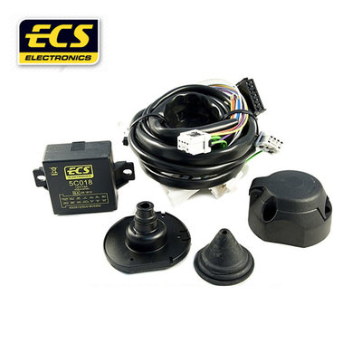 Kabelset 13 polig Fiat Panda 3 deurs hatchback 10/2003 t/m 12/2011 - wagenspecifiek