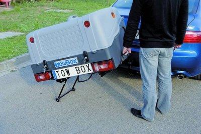Towbox V1 Grey trekhaakbagagebox