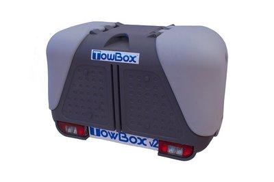 Towbox V2 Grey trekhaakbagagebox